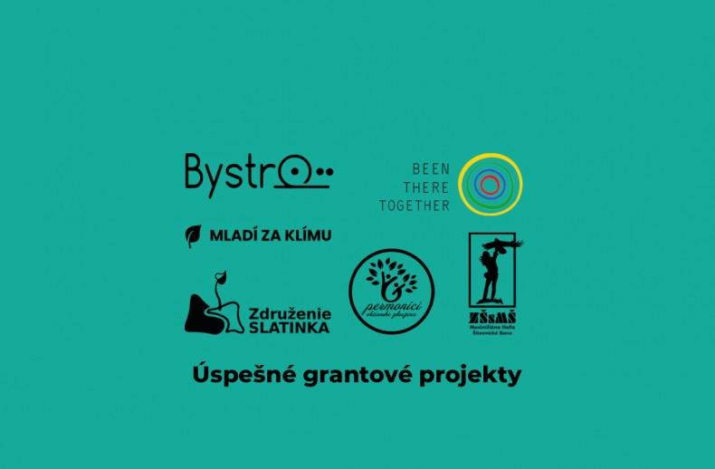 Grantové projekty - logá