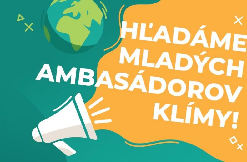 Staň sa ambasádorom klímy